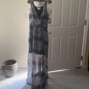 Silhouette Maxi Dress (NWT)